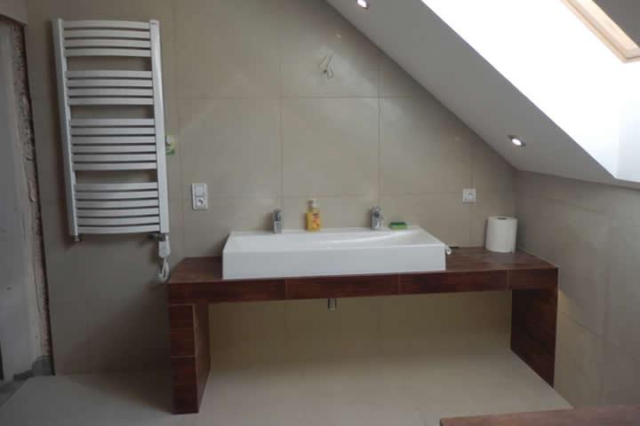 łazienka Kremowo Brązowa Armabud